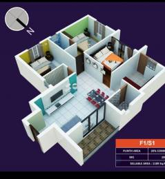 1562 sqft, 3 bhk Apartment in Indira Sterlings Adyar, Chennai at Rs. 2.4300 Cr