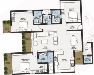 2176 sqft, 3 bhk Apartment in RBD Stillwaters Apartments Harlur, Bangalore at Rs. 1.3500 Cr