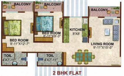 1000 sqft, 2 bhk Apartment in Konnark River City Koproli, Mumbai at Rs. 44.0000 Lacs