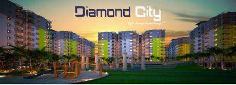 1054 sqft, 2 bhk Apartment in Builder Diamond City Oyna, Ranchi at Rs. 24.3000 Lacs