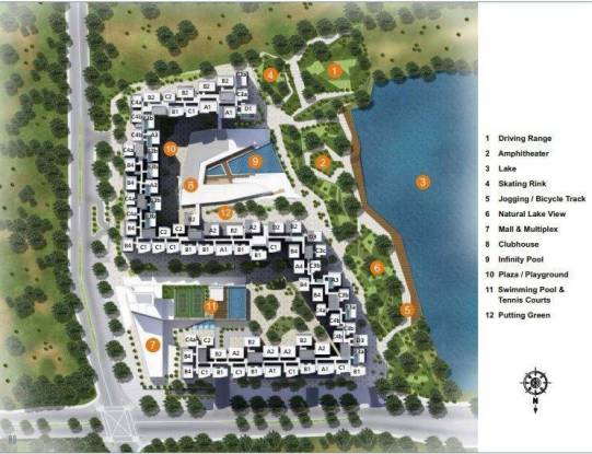 2132 sqft, 3 bhk Apartment in Aliens Space Station 1 Gachibowli, Hyderabad at Rs. 1.0660 Cr