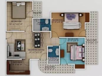 1225 sqft, 3 bhk Apartment in Javin Raj Empire Raj Nagar Extension, Ghaziabad at Rs. 30.0000 Lacs