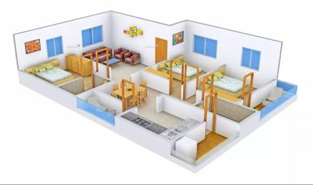 1451 sqft, 3 bhk Apartment in AR SM Tranquil Whitefield Hope Farm Junction, Bangalore at Rs. 50.5000 Lacs