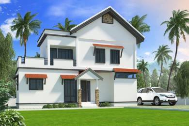 1307 sqft, 2 bhk Villa in Chathamkulam Builders Temple Park Koottupaatha, Palakkad at Rs. 24.0000 Lacs