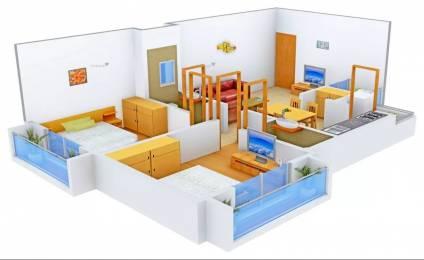 1125 sqft, 2 bhk Apartment in PSY Pramukh Oasis Sargaasan, Gandhinagar at Rs. 16000