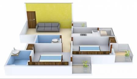 1150 sqft, 2 bhk Apartment in Angel Jupiter Ahinsa Khand 2, Ghaziabad at Rs. 50.0000 Lacs