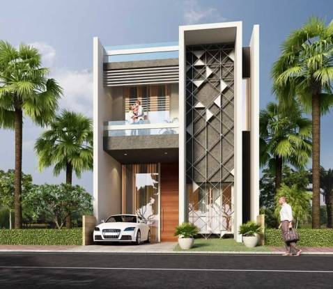 2250 sqft, 3 bhk Villa in Builder Kanak Avenue Expert Realty MR 11, Indore at Rs. 71.9900 Lacs
