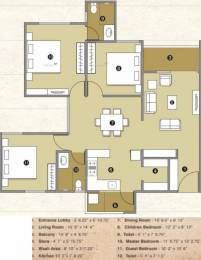 1600 sqft, 3 bhk Apartment in Pacifica Reflections Near Nirma University On SG Highway, Ahmedabad at Rs. 60.8000 Lacs
