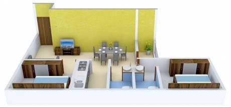 880 sqft, 2 bhk Apartment in Godrej Prakriti Sodepur, Kolkata at Rs. 11000
