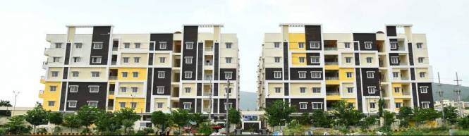 1494 sqft, 3 bhk Apartment in Utkarsha Abodes Madhurawada, Visakhapatnam at Rs. 52.2900 Lacs
