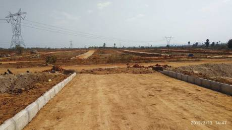 1350 sqft, Plot in Builder HMDA group layout Bibinagar, Hyderabad at Rs. 12.7500 Lacs