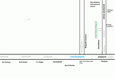 1350 sqft, Plot in Builder Rose wood phase 2 Avalahalli, Bangalore at Rs. 29.7000 Lacs