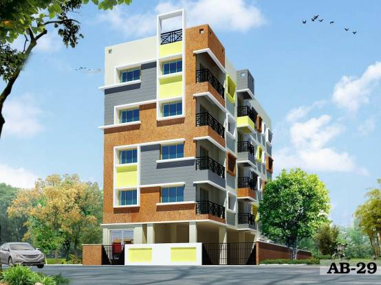 1224 sqft, 3 bhk Apartment in Builder AB 02 New Town, Kolkata at Rs. 55.0800 Lacs
