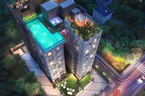 1181 sqft, 3 bhk Apartment in Builder Project Tangra, Kolkata at Rs. 60.8200 Lacs