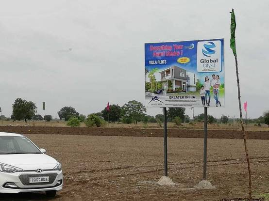 1800 sqft, Plot in Builder GLOBAL CITY II Nandigama, Hyderabad at Rs. 24.5000 Lacs