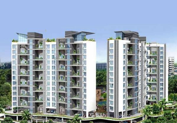 1255 sqft, 2 bhk Apartment in Marvel Marvel Citrine Kharadi, Pune at Rs. 1.0200 Cr