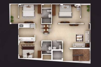 1455 sqft, 3 bhk Apartment in Builder Project City Centre, Gwalior at Rs. 34.5000 Lacs