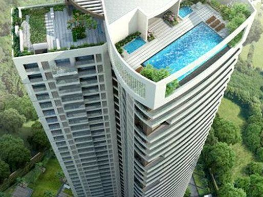 2700 sqft, 3 bhk Apartment in Kalpataru Pinnacle Goregaon West, Mumbai at Rs. 5.5500 Cr