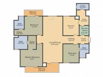 2125 sqft, 3 bhk Apartment in Emaar Premier Terraces Sector 66, Gurgaon at Rs. 2.3500 Cr