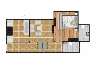 600 sqft, 1 bhk Apartment in Sheth Midori Dahisar, Mumbai at Rs. 19000