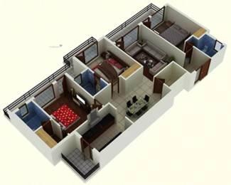 1610 sqft, 3 bhk Apartment in DD Jaganz Classic Residency Gazipur, Zirakpur at Rs. 60.0000 Lacs