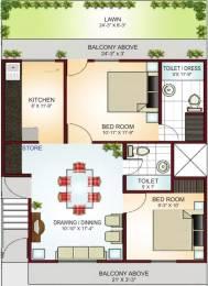 915 sqft, 2 bhk Apartment in Krish City Phase 1 Sector 93 Bhiwadi, Bhiwadi at Rs. 14.8000 Lacs