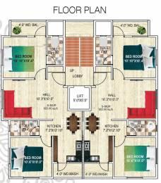 950 sqft, 2 bhk Apartment in Builder Sai Manthan Wathoda, Nagpur at Rs. 31.0000 Lacs