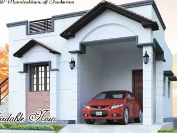 1280 sqft, 3 bhk Villa in Builder Indiras Sun Ville Mannivakkam, Chennai at Rs. 69.5200 Lacs