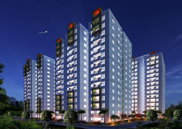 1860 sqft, 3 bhk Apartment in Ramky One Galaxia Nallagandla Gachibowli, Hyderabad at Rs. 96.0000 Lacs