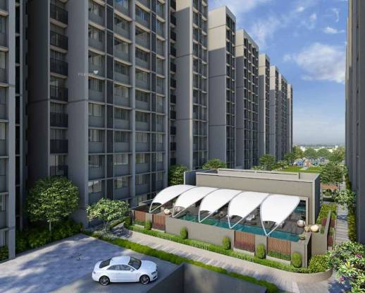 1250 sqft, 2 bhk Apartment in Siddhi Aarohi Elysium Bopal, Ahmedabad at Rs. 15000
