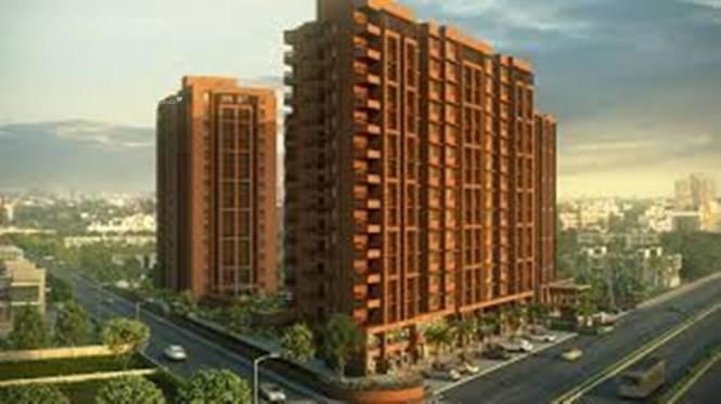 1200 sqft, 2 bhk Apartment in Kavisha Celebrations Bopal, Ahmedabad at Rs. 16500