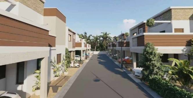 1009 sqft, 2 bhk IndependentHouse in Builder ramana gardenz Marani mainroad, Madurai at Rs. 49.4410 Lacs