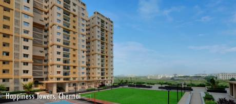 1441 sqft, 3 bhk Apartment in Pacifica Happiness Towers Padur, Chennai at Rs. 62.0000 Lacs