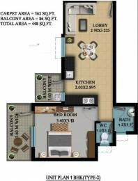 470 sqft, 1 bhk Apartment in OSB Golf Heights Sector 69, Gurgaon at Rs. 14.9100 Lacs