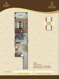 447 sqft, 1 bhk Apartment in ROF Ananda Sector 95, Gurgaon at Rs. 14.0000 Lacs