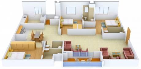 2765 sqft, 3 bhk Apartment in Lanco Hills Apartments Manikonda, Hyderabad at Rs. 29000