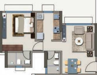 705 sqft, 1 bhk Apartment in Kanakia Codename Future B Powai, Mumbai at Rs. 1.4000 Cr
