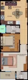 950 sqft, 2 bhk Apartment in Gurugram The Priority Sector 7, Gurgaon at Rs. 13500