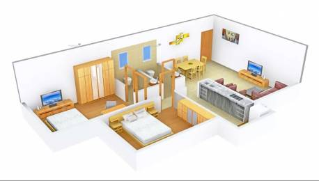 884 sqft, 2 bhk Apartment in Kaustubh Rajendra Nagar Shree Ganesh Chs Ltd Borivali East, Mumbai at Rs. 37000