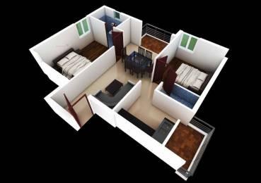 1025 sqft, 2 bhk Apartment in Builder Project Ramanathapuram, Coimbatore at Rs. 46.1200 Lacs
