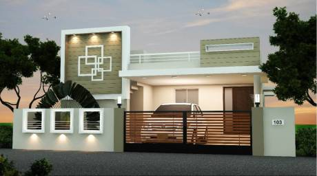 1397 sqft, 1 bhk Villa in Builder Sunrise Rose Garden Palakkad Main Road, Coimbatore at Rs. 32.3400 Lacs