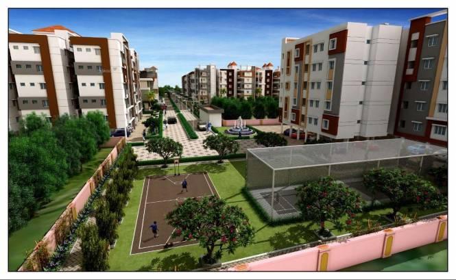 661 sqft, 1 bhk Apartment in Builder Brundavnaam Advaitha Telaprolu, Vijayawada at Rs. 15.0000 Lacs