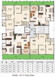 1214 sqft, 3 bhk Apartment in Mantra 29 Gold Coast Phase 1 Dhanori, Pune at Rs. 67.0000 Lacs