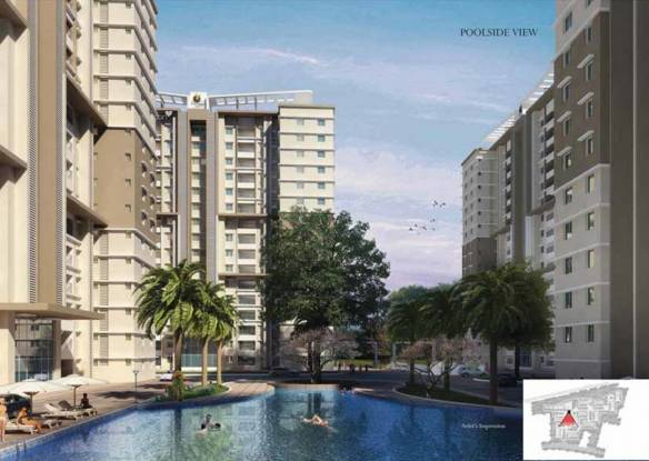 697 sqft, 1 bhk Apartment in Prestige Royale Gardens Yelahanka, Bangalore at Rs. 41.4800 Lacs