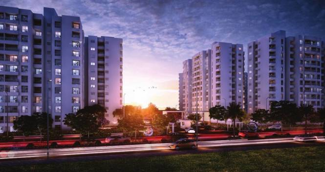 1196 sqft, 2 bhk Apartment in Godrej Prana Undri, Pune at Rs. 53.8200 Lacs