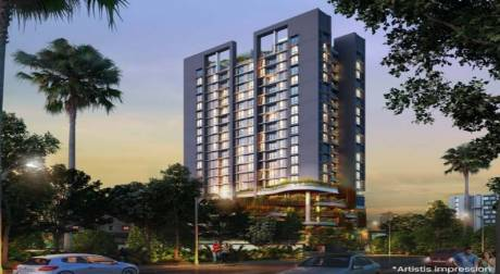 580 sqft, 1 bhk Apartment in Ceear Primo Bhandup West, Mumbai at Rs. 94.0001 Lacs