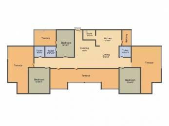 2025 sqft, 3 bhk Apartment in Avirat Silver Harmony Gota, Ahmedabad at Rs. 85.0000 Lacs