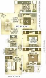 1400 sqft, 3 bhk Apartment in Evershine Madhuvan Santacruz East, Mumbai at Rs. 3.9000 Cr