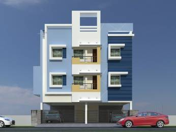 790 sqft, 2 bhk Apartment in Builder SHARADHA HOMES Velachery, Chennai at Rs. 51.3500 Lacs