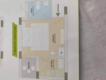475 sqft, 1 bhk Apartment in  Maya Garden City Nagla, Zirakpur at Rs. 18.4000 Lacs